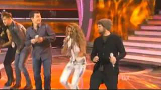 American Idol - Group Performance - I Love Rock & Roll, The Letter & Sweet Home Alabama - 04/07/11