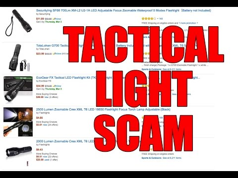 G700 Military Grade Flashlight - Internet Scam