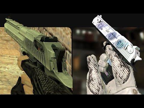 Evolution Of Desert Eagle In Counter-Strike (1999-2018)