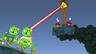 Bad Piggies - FOOLING THE ANGRY BIRDS WHEN MEET THEM