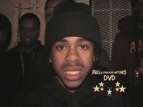 PHILLY HOODSTARS DVD YOUNG SAM CLASSIC FOOTAGE