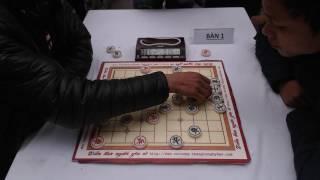 Vòng 7 Giải cờ nhanh CLB Kinh Bắc 2017: Phạm Quốc Hương (đi tiên) vs Dương Đình Chung