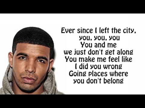 Drake - Hotline Bling Lyrics