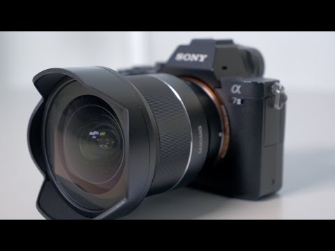 Rokinon 14mm F2 8 Full Frame Auto Focus Lens for Sony E-Mount, Black  (IO14AF-E)