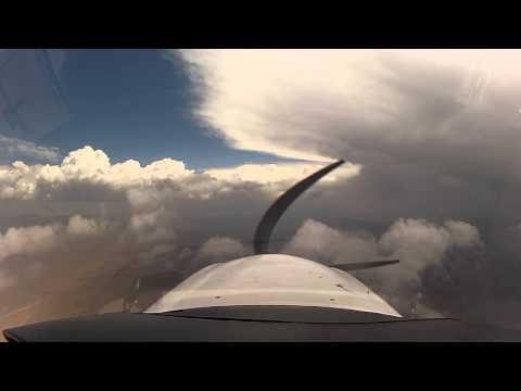 First IFR Flight DA40 G1000, Lots of IMC, Las Vegas to Carlsbad w/ATC