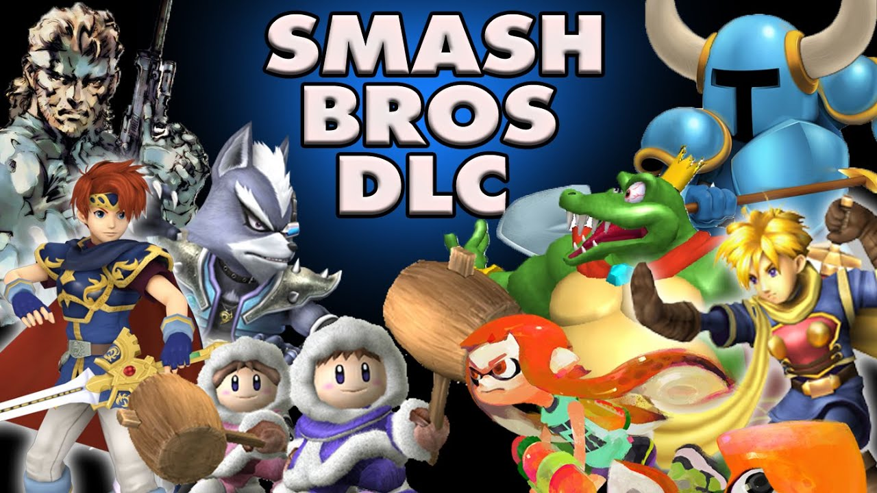 smash 4 how to get all dlc characters for free