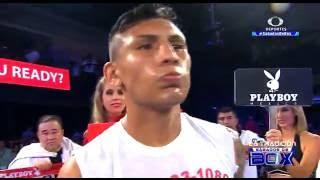 """Diego """"Demoledor"""" Cruz vs José """"Pistón"""" López"""
