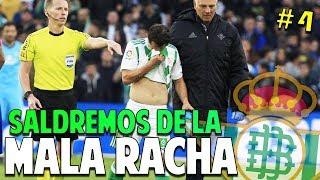 LA DIFICULTAD MÁXIMA SE NOS RESISTE #4 Real Betis | FIFA 19 Modo Carrera Manager Temp. 1