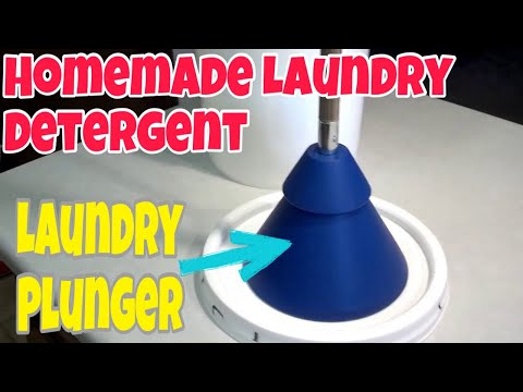 SHTF - Bartering Homemade laundry detergent - plus my cool laundry plunger!