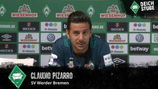 """Claudio Pizarro: """"Champions-League-Fußball spielen wir noch nicht"""""""