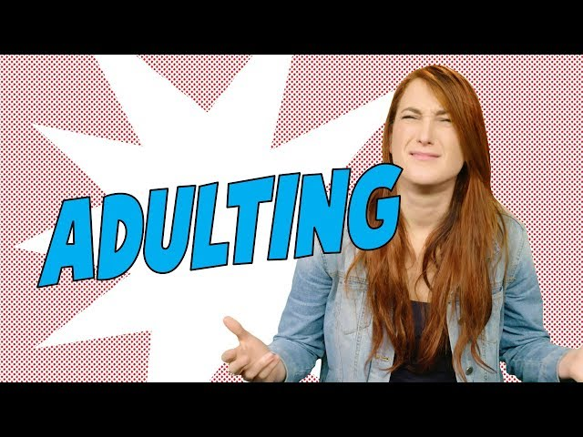 """Pros and Cons """"Adulting"""" - Joanna Rants"""