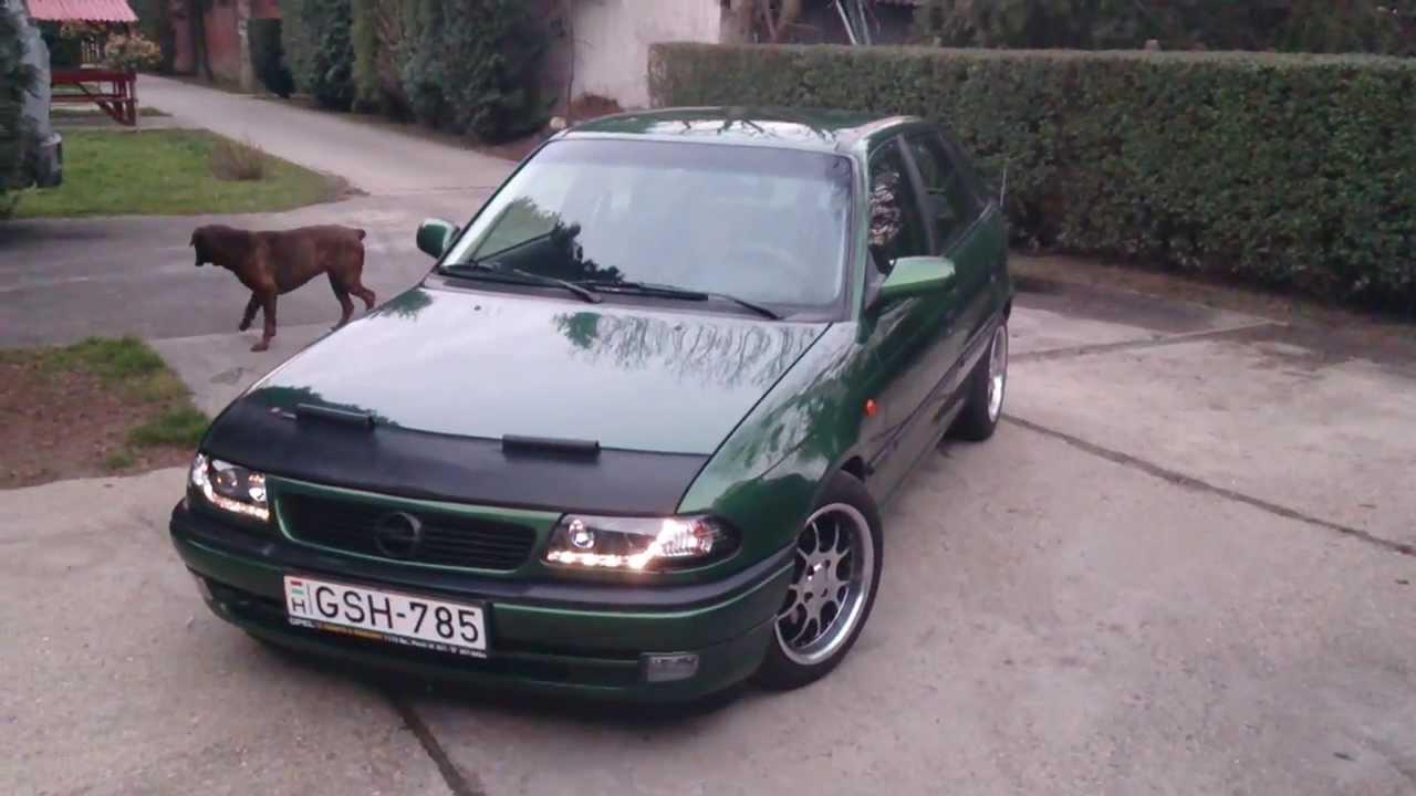 Opel astra F ecotec 1.6 16v - YouTube