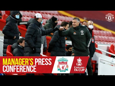 Manager's Press Conference | Manchester United v Liverpool | Ole Gunnar Solskjaer | Emirates FA Cup
