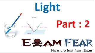 Physics Light Part 2 (Luminous, Illuminated) Class 8  VIII