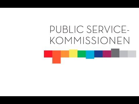 Public service-kommissionens  första hearing