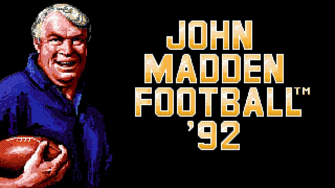 Title Theme John Madden Football 92 Youtube
