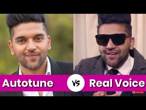 GURU RANDHAWA Autotune Vs Real Voice | Autotune And Real Voice Compare