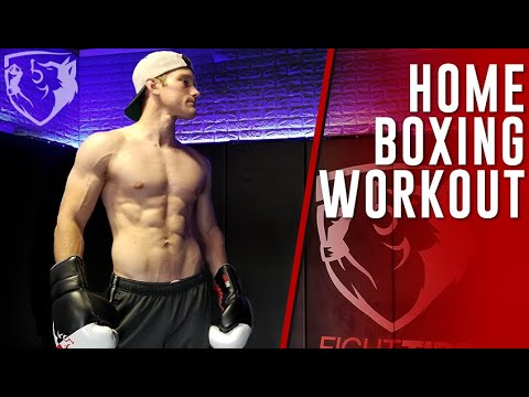 Home Boxing Workout for Punch Speed & Endurance