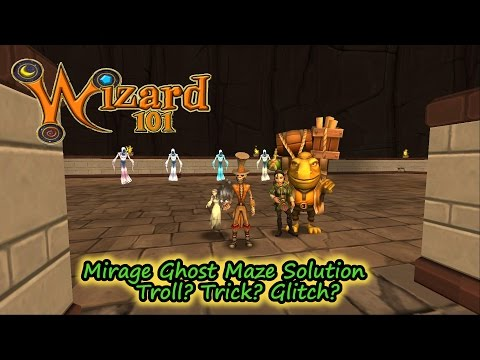 Wizard101 Solo Ghost Maze (Level 120 Fire) - YouTube
