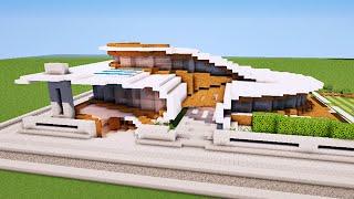 Minecraft Maison Moderne Originale Map Youtube