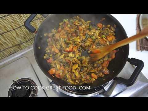 Indian Mushroom Curry - Easy Recipe Vegan