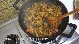 Indian Mushroom Curry - Vegan Recipe