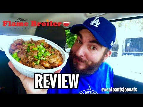 FLAME BROILER REVIEW | TERIYAKI CHICKEN BOWL | HEALTHY FAST FOOD