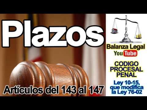 plazos-en-el-código-procesal-penal-dominicano