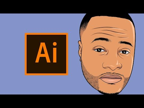 HOW TO MAKE A CARTOON | TUTORIAL! - Step By Step ( ADOBE ILLUSTRATOR ) thumbnail