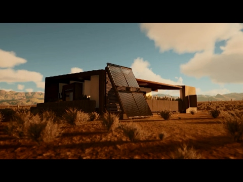 Las Vegas Digital Project Representation - Solar Decathlon 2017