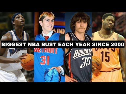Biggest NBA Draft Bust By Year (2000-2018)