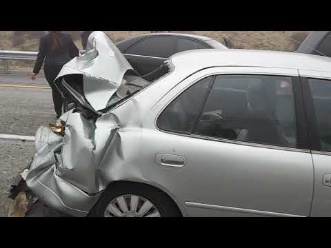 Evelyn Erives - NEW VIDEO FOOTAGE: 19 Car Pile Up On The Cajon Pass!!