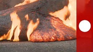Hawaii: Lava flow worsens scorching through roads