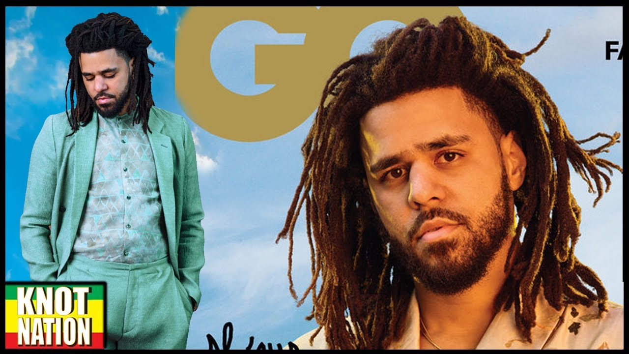 american express card registration  J.Cole Freeform Dreadlocks on GQ Magazine Cover