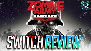 Zombie Army Trilogy Switch Review-ZOMBIE SNIPER ELITE (Video Game Video Review)