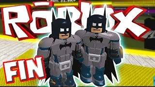 THE BEST SUPER HEROE OF ALL ROBLOX FIN Part5 TRUSH