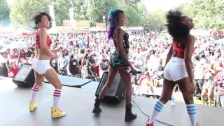 "Zoey Clarke Performs ""High"" ft. Fetty Wap at Pure Heat Festival"