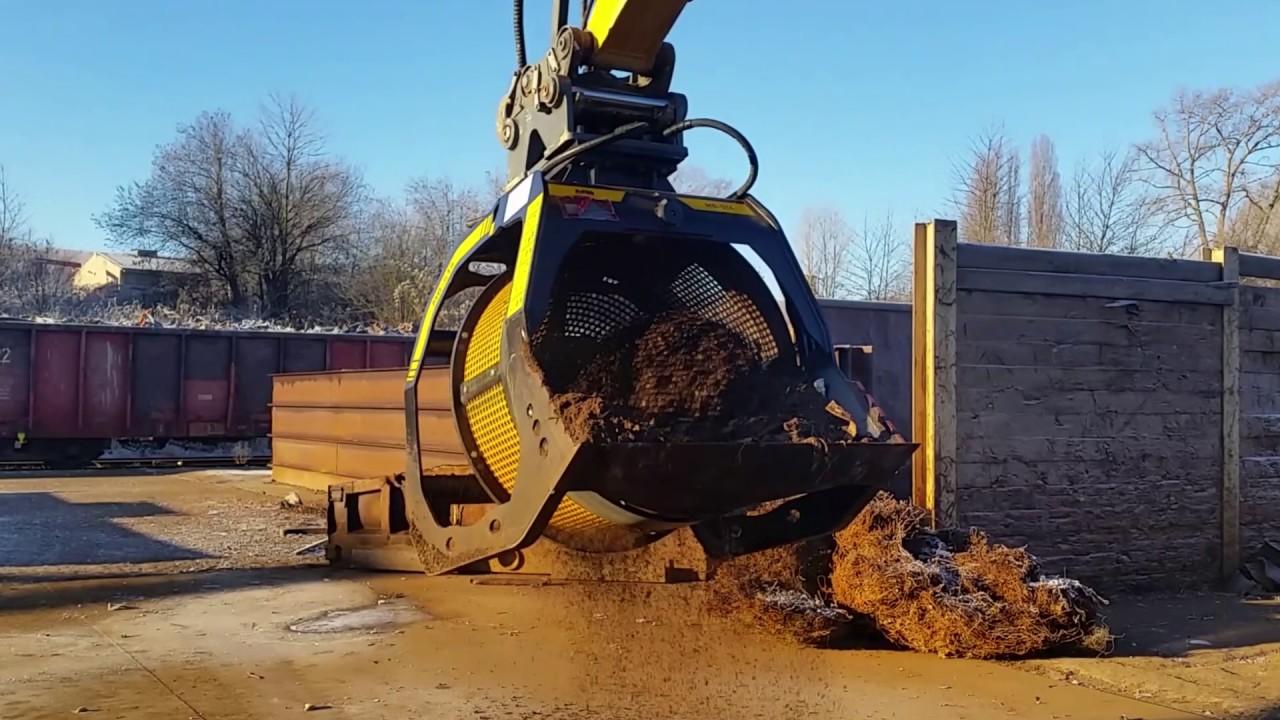 Das Sieben Von Schutt  Direkt Auf Der Baustelle Kostet Ab Heute Weniger
