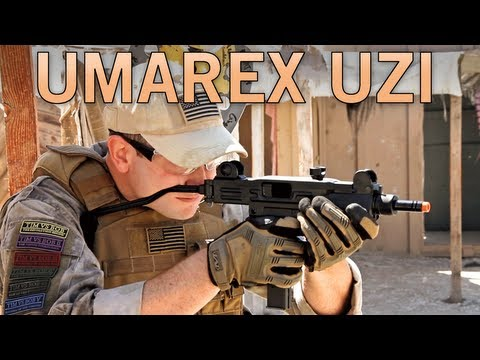 Airsoft GI - Umarex Licensed UZI Co2 Blowback SMG review at SC Village