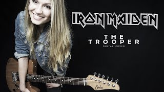 IRON MAIDEN - The Trooper Guitar Solo Cover