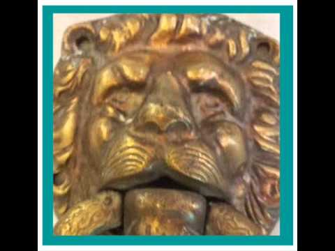 A Vintage Brass lions head door knocker & what it is worth - A Vintage Brass Lions Head Door Knocker & What It Is Worth - YouTube