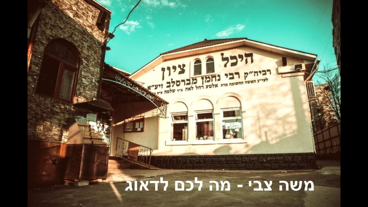 מה לכם לדאוג | שיר ברסלב - הימנון אמונה יהודי - משה צבי