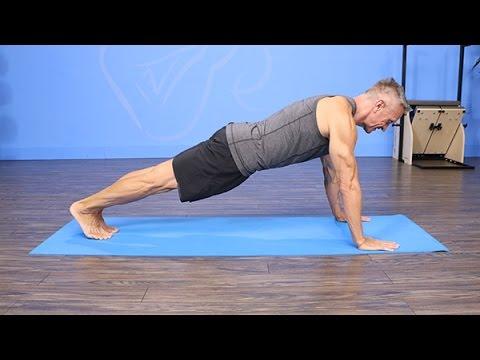 Pilates Mat Leg Pull Front Variation