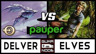 Pauper - MONO BLUE DELVER vs ELVES