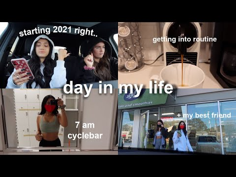 day in my life - hello 2021