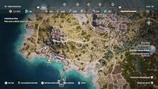 Assassin's Creed Odyssey #26 - ps4 - (Gameplay ao vivo em Português PT-BR)