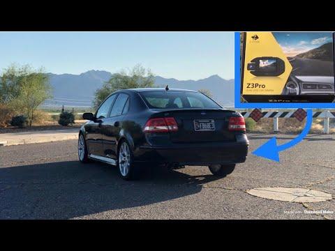 Z3 Pro Dual Lense Dashcam Install on My Saab 9-3