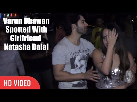 Varun Dhawan Spotted With Girlfriend Natasha Dalal With Arjun Kapoor And Malaika Arora Khan