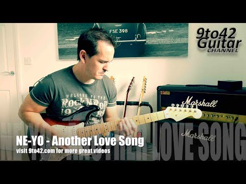 How to play Another Love Song by Ne-Yo guitar Lesson Tutorial