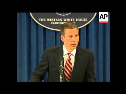 Whitehouse comments on situation in Myanmar and Lebanon